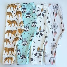 Boys Girls Harem Pants Panda Teepee Pants For Toddler Baby Girl Boy Harem Pants Reccoon Dreamcatcher Tiger Children Clothes(China (Mainland))