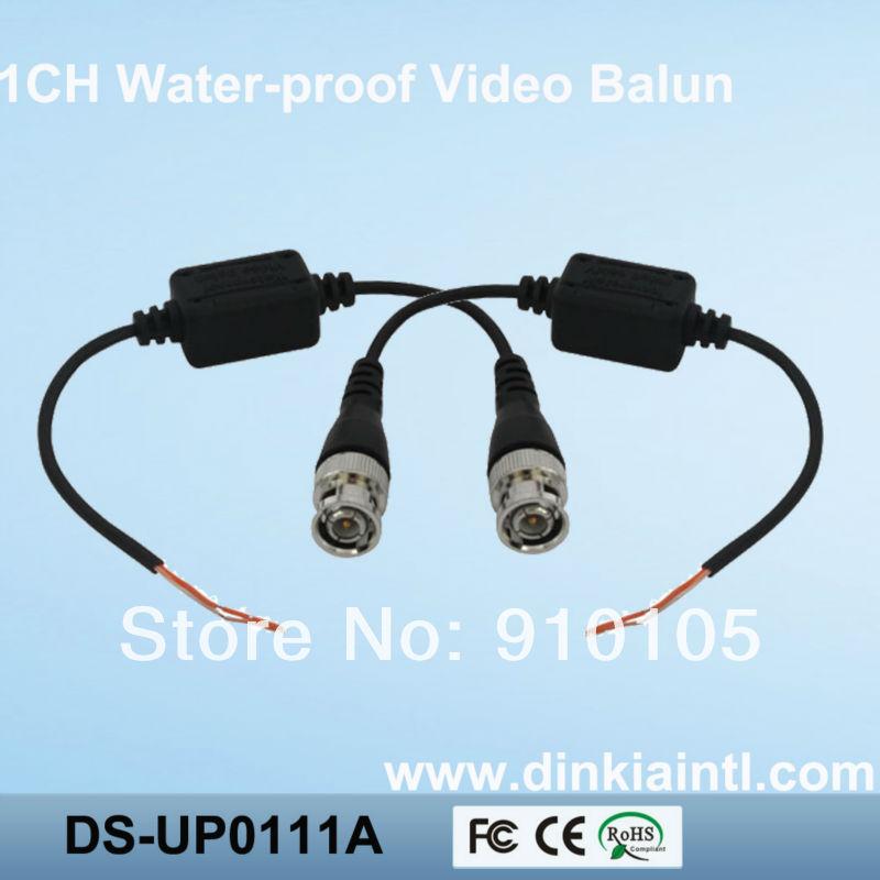 10pcs/lot Twisted BNC CCTV Video Balun Passive Transceivers UTP Balun BNC Cat5 CCTV UTP Video Balun up to 3000ft Range(Hong Kong)