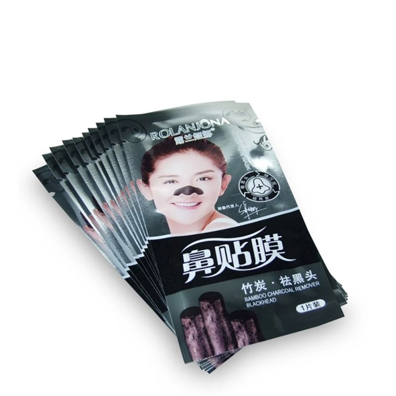 2017 Nose Blackhead Pore Deep Cleaner Removal Mask Strips Spots Acne Black Bamboo Head Face Masks Pack Face Care