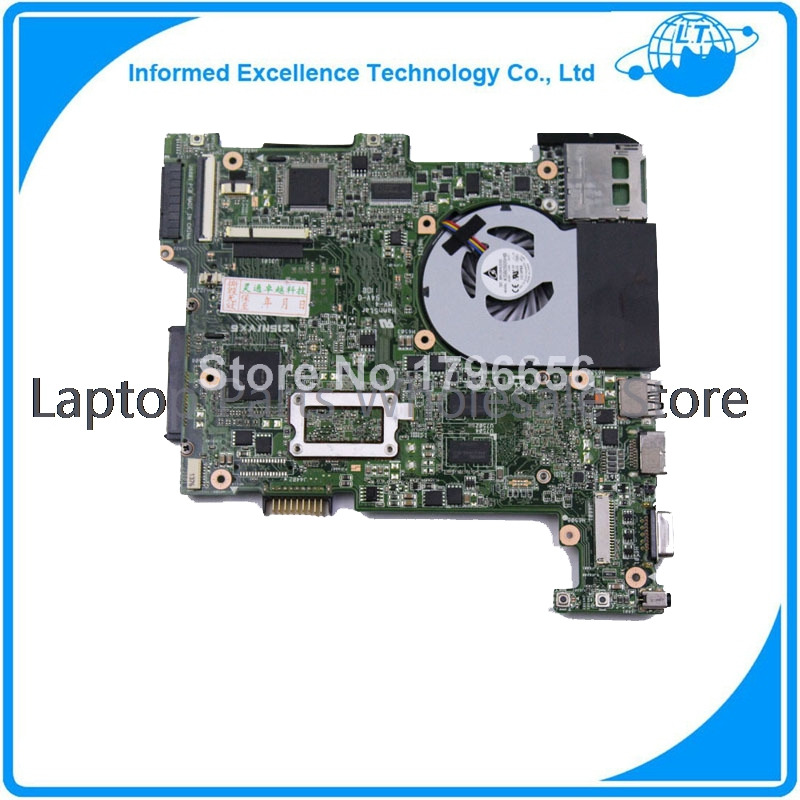 For Asus Eee PC 1215N laptop motherboard 1.4 with cooling fan mainboard fully tested & working perfect(China (Mainland))