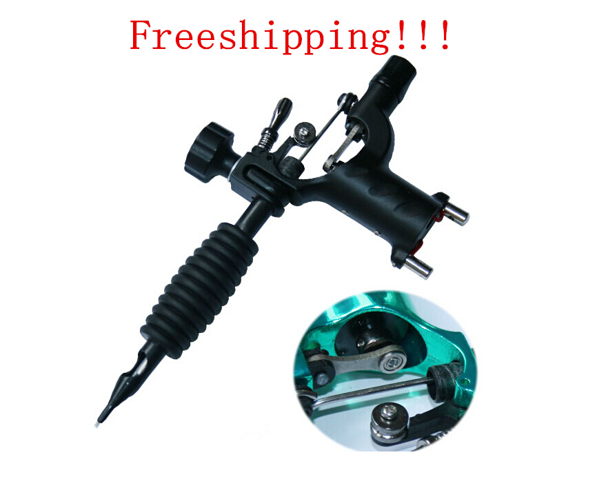 Dragonfly Rotary Tattoo Machine Shader & Liner 7 Colors Assorted Tatoo Motor Gun Kits Supply For Artists(China (Mainland))