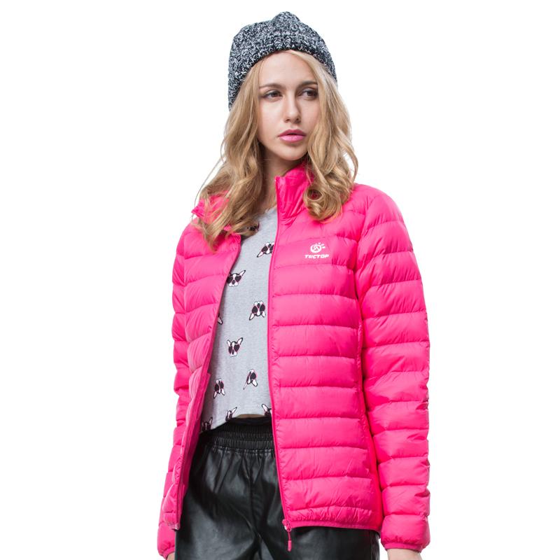 Dropshipping free shipping women's Winter down Jackets Ultra light 90%Duck Down Outdoor camping hiking Down Ultra-Light coat