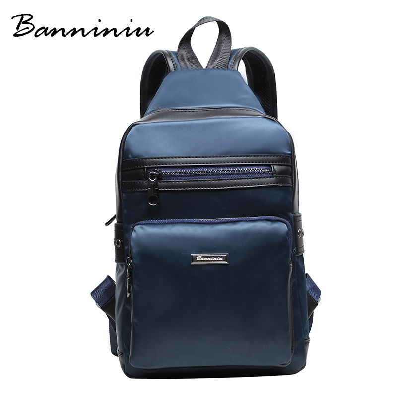 BANNINIU 2016 Summer New Super Star Man Bag Hiking Travel Backpack Nylon Personality Trend Male Bags UK Excellent Back Packs(China (Mainland))