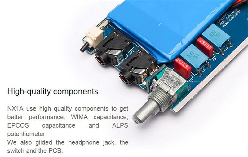 ถูก ร้อนขายT Opping TP NX1Aแบบพกพา3.5มิลลิเมตรไฮไฟดิจิตอลหูฟังเครื่องขยายเสียงหูฟังMP3 AMPสเตอริโอเครื่องขยายเสียงUSBชาร์จ