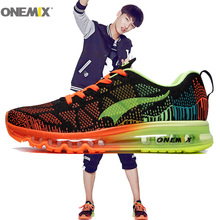 Man Running Shoes for men Run Athletic Trainers Black Zapatillas Deportivas Sports Shoe Air Cushion Outdoor Walking Sneakers Top