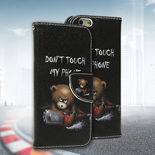 Leather Flip Cover Case For Samsung Galaxy S3 S5 S4 Mini Note 3 4 5 S6 Edge A5 J1 J3 For iPhone 5 5S 6 6S Plus/ Huawei P8 Lite