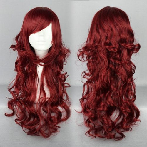 P11 free shipping Express delivery to USA Synthetic Hair Sexy Style Long Multi-color Beautiful Lolita Wig s1863(China (Mainland))