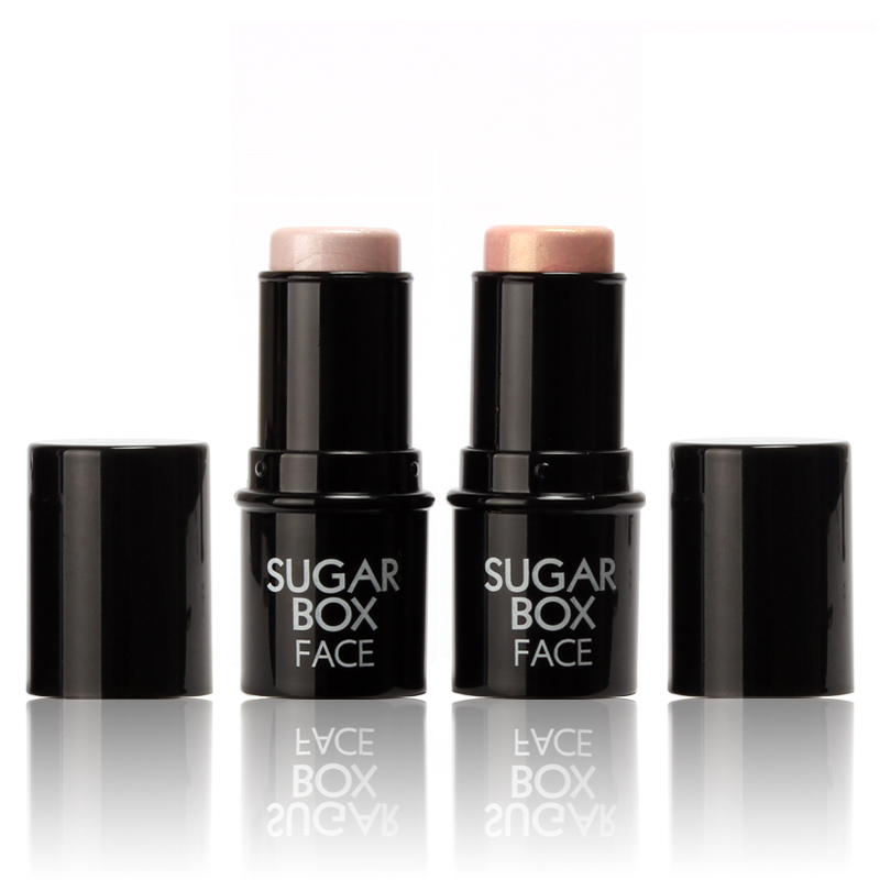 Sugar box Highlighter stick All Over Shimmer Highlighting Powder Creamy Texture Water-proof Silver Shimmer Light(China (Mainland))