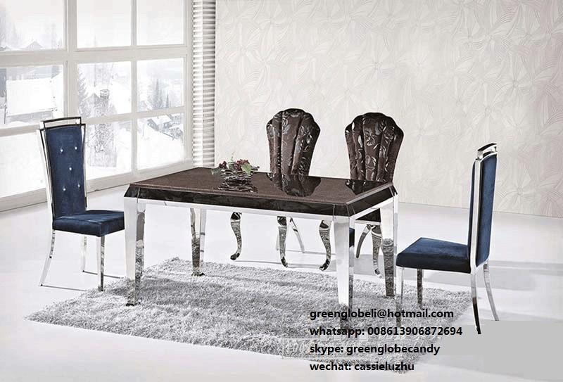 Luxe salle manger set de table table manger chaises for Table de salle a manger luxe