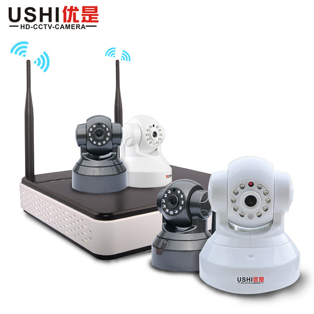 Priority is the security suite wifi wireless network surveillance camera video recorder surveillance camera equipment packages(China (Mainland))