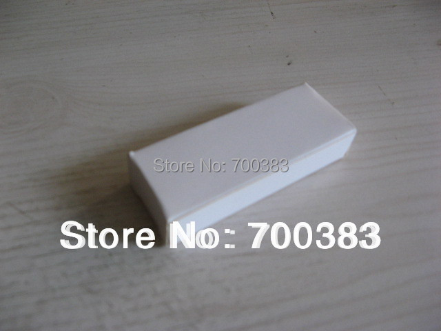 5 PCS Electronic Product Packaging The White USB Box Paper packaging White Paper Gift Box Size 2.37 x 0.95 x 0.44 inch(China (Mainland))
