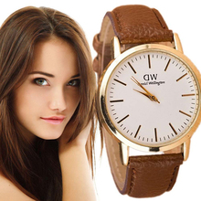Top Brand Luxury Daniel Wellington Men Watches Dress Women Watch DW Leather GENEVA Quartz Wristwatch Relogio Masculino Feminino