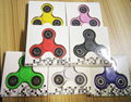 9 Colors Handspinner Tri Spinner Fidget Toy Plastic EDC Hand Spinner For Autism and ADHD Anxiety