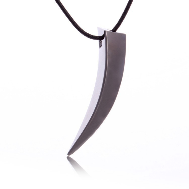 Wolf Tooth Spike Personality Necklace Men Pendant Male Necklace Accessories for Friends Birthday Gift(China (Mainland))