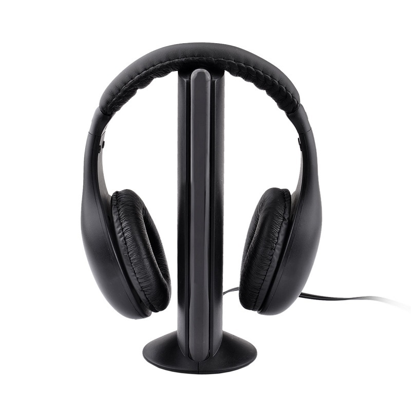 W2001 Wireless FM Radio Headset with Transmitter Base Station Cuffie Gaming Headphone Audifonos Earphone for Computer(China (Mainland))