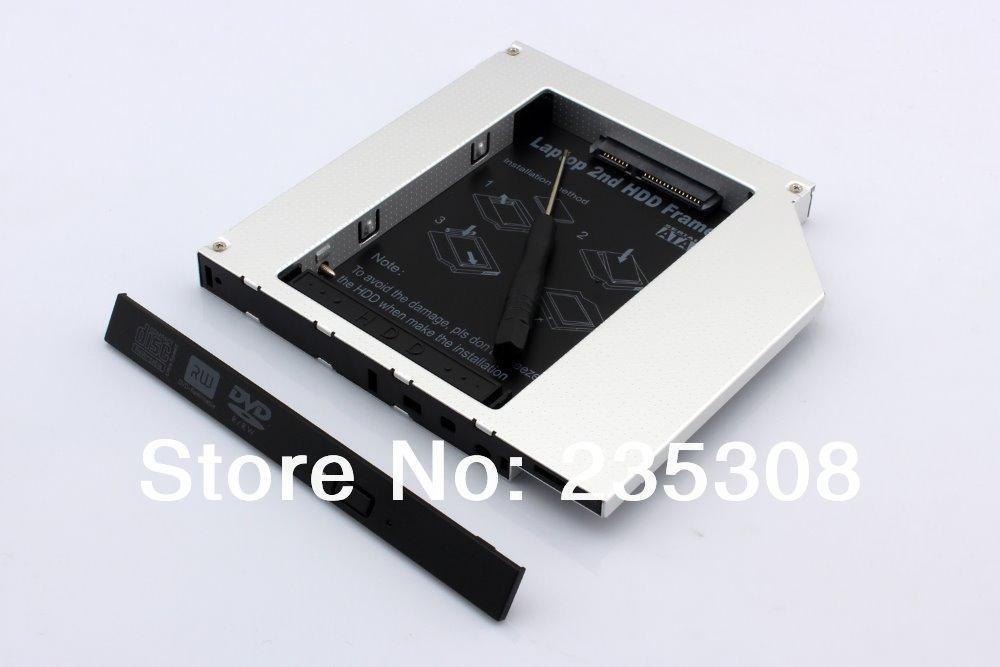 SATA 2nd Hard Drive HDD SSD Caddy For DELL Inspiron 15R SE 7520 N5010 N5110 M5010(China (Mainland))