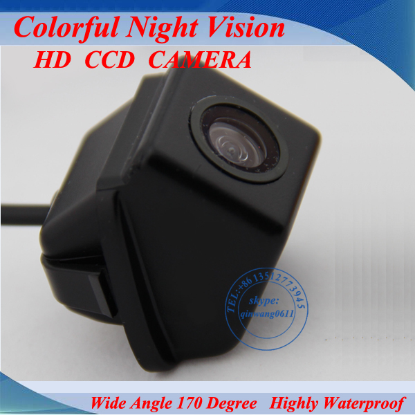 Free shipping color For Toyota Camry 2009 2010 rear view camera reverse camera camry 170 degree waterproof(China (Mainland))