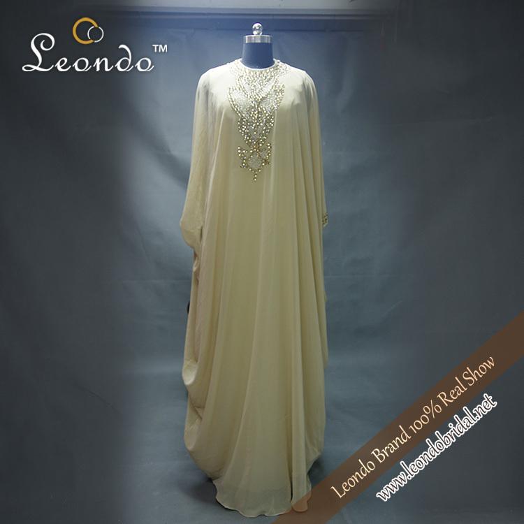 Muslim abaya kaftan arabic abaya dubai chiffon mother for Wedding dresses in dubai prices