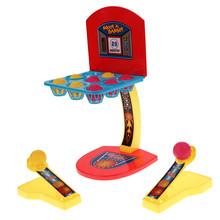 Bébé jouets de basket - ball MACHINE à tirer un ou plusieurs joueurs jeu TOY enfants enfants BOY marque livraison gratuite(China (Mainland))