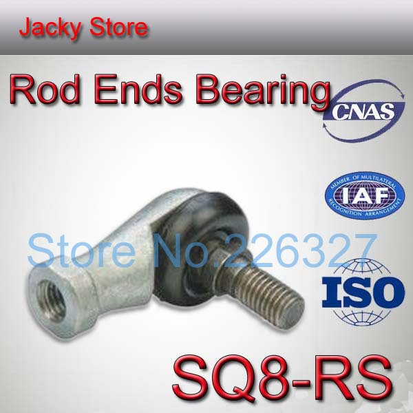Free Shipping High Qulity 4pcs/lot SQ8 RS 8mm Ball Joint Rod End Right Hand Tie Rod Ends Bearing SQ8RS(China (Mainland))