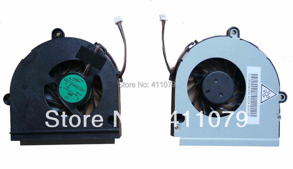 NEW FOR ASUS K53U series CPU Cooling fan Computer Components Laptop Notebook Accessories Displacement Parts Wholesale (F448)(China (Mainland))