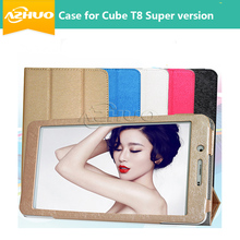 New arrival protective case cover for 8 inch Cube T8 super Phone Call Tablet PC with GIFT free shipping