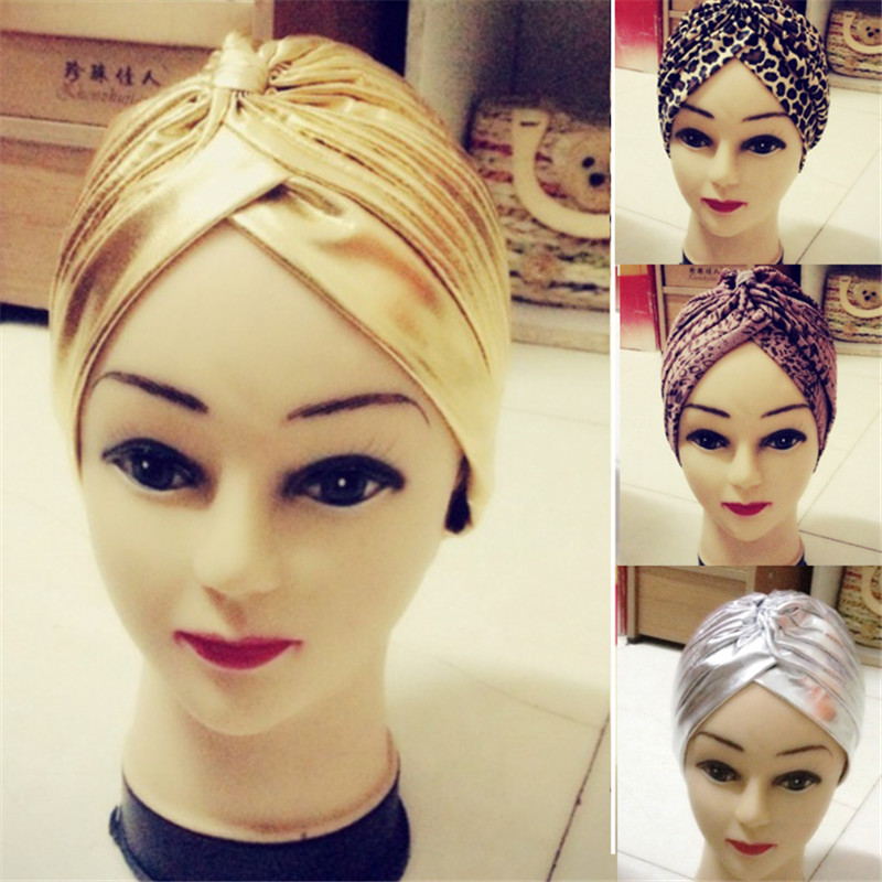 New Fashion Unique Indian Style Stretchable Yoga Hat Turban Chemo Headwrap Hair Head Wrap Cap Cover Casual Style Free Shipping(China (Mainland))