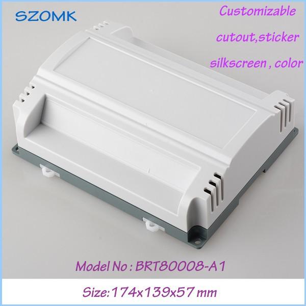 4pc /lot plastic electronic case junction box terminal enclosure case diy  174x139x57 mm<br><br>Aliexpress