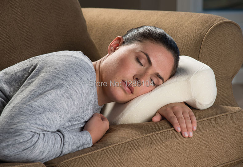 7 Shape Velet Multi Position Pillow with Memory foam for napping a Backrest for Customized Support natural body positions(China (Mainland))