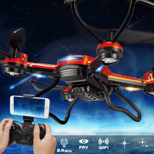 FPV Smartphone WIFI Real Time Transmission Quadcopter 2MP HD Camera Flying Toy RC Helicopter Seeker Best Mini Drone for Beginner(China (Mainland))