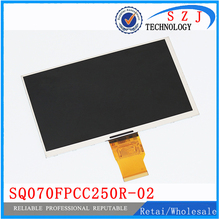 "New 7"" inch lcd screen LCD display SQ070FPCC250R-02 for Changhong H702 3G 700CPNT-50Z-HD tablet Free shipping"