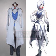 RWBY D'hiver Schnee Cosplay Costume Ensemble Complet Anime Vêtements