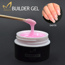 Clear Pink Nude Color UV Builder Gel Acrylic Nail Art False Tips Extension 15 ml Lacquer Pick 1 - MONASI store