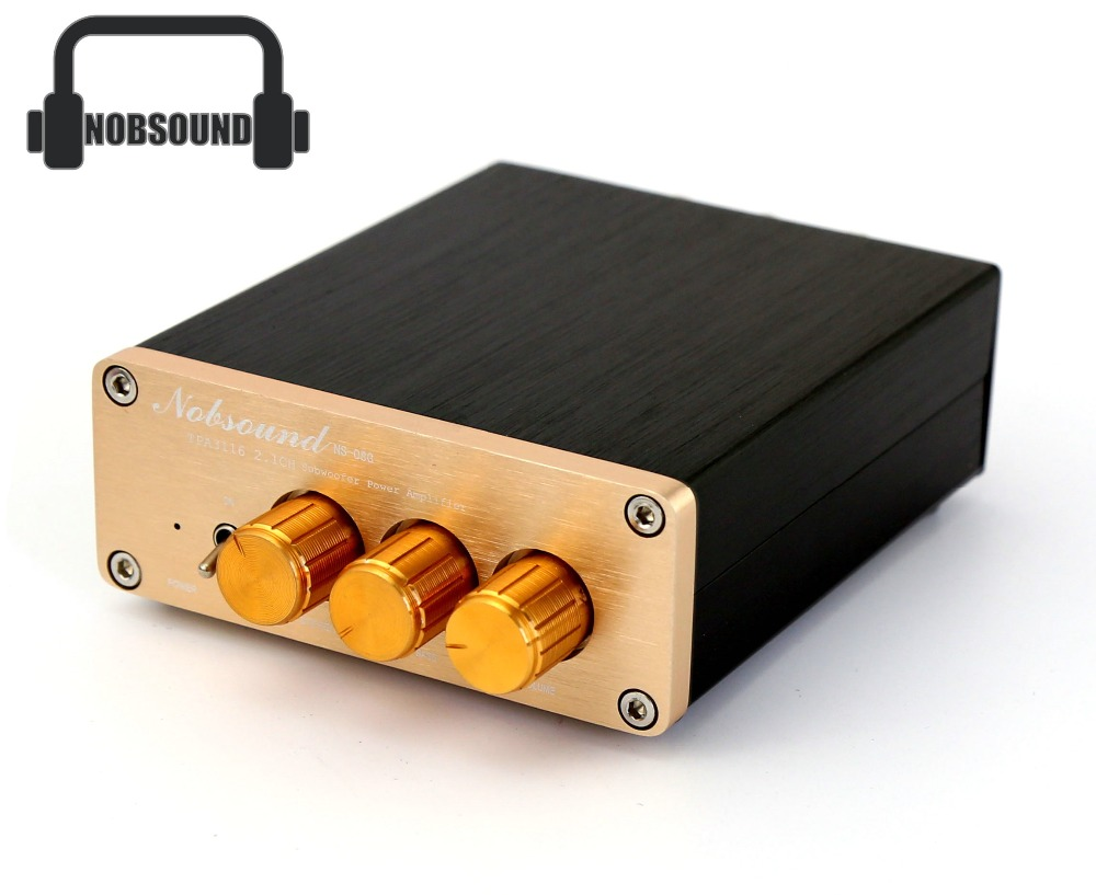 Music Hall Nobsound TPA3116 D2 Mini HiFi 2.1 CH Stereo amp Channel Digital Amplifier with Power Suppy Free Shipping<br><br>Aliexpress