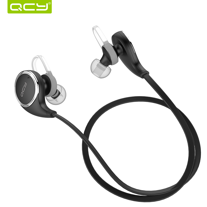 qcy qy8 bluetooth headset wireless sport bluetooth earphone with mic noise cancelling headset. Black Bedroom Furniture Sets. Home Design Ideas