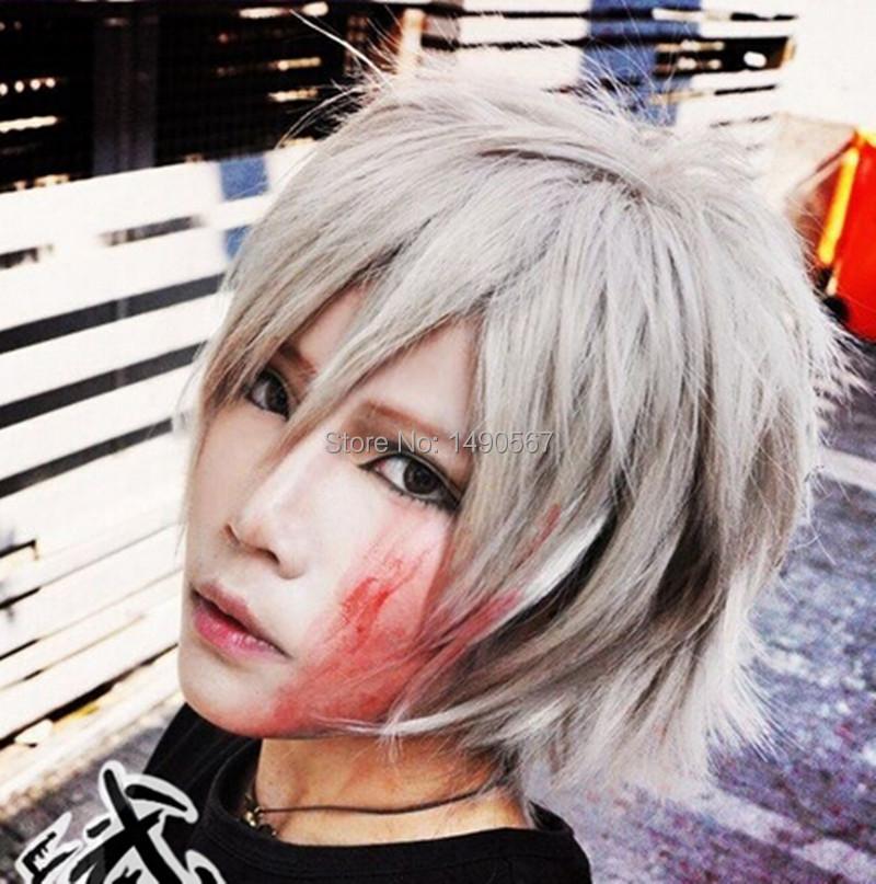 Tsuritama Short Blonde Straight Cosplay Wig<br><br>Aliexpress