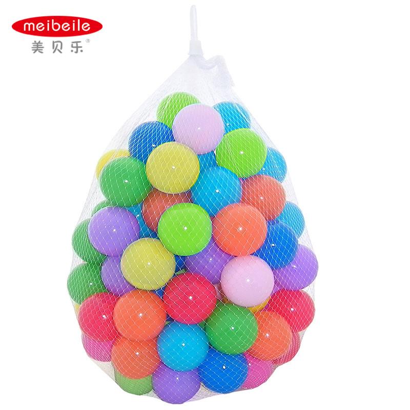 Compra pelotas de pl stico para la piscina de bolas online for Piscina de bolas para bebes