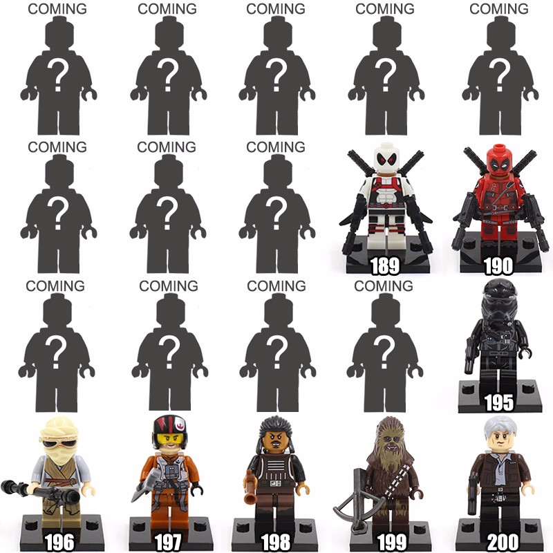 Single Sale XINH 079 Marvel Daredevil's Enemies Bullseye Minifigures Blocks Tremendous Villain Mini Figures Toys Constructing Blocks