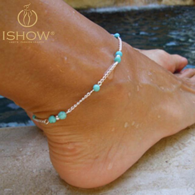 Золотой браслет конструкции бисер ножные браслеты для женщин chaine cheville роуз ...