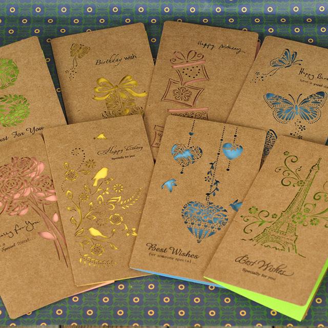 Дизайн открытки с конвертом