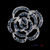 P168-378 Free Shipping 10pcs/lot Fashion Rose Flower Brooches Pin  Women Daily Accessories