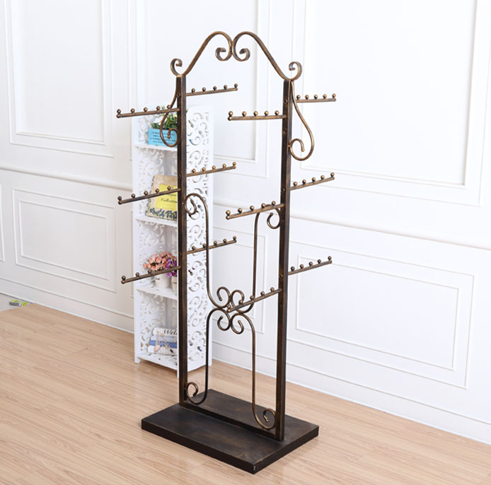 Iron Lingerie Underwear Baby Clothes Rack Stand Display(China (Mainland))
