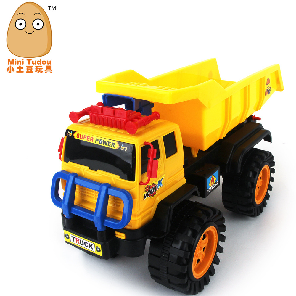 Promotional Children inertia toy car wholesale large plastic toy truck truck children FD092(China (Mainland))
