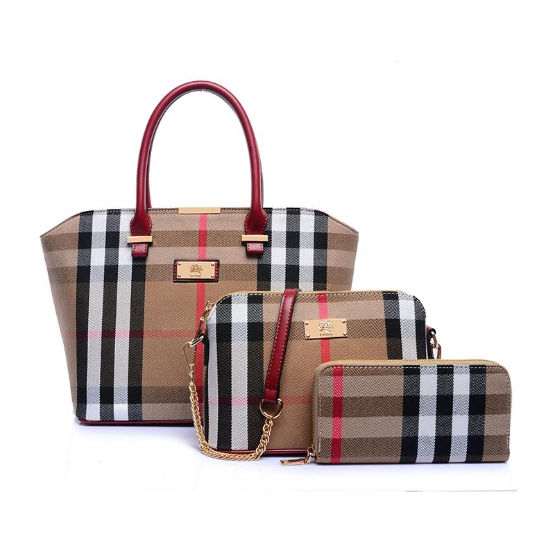 3 conjuntos mulheres marca genuína Bolsas de couro das mulheres Bolsas de couro reais grandes sacos de ombro Designer saco Bolsas femininas do Vintage