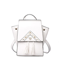 Famous Brand 2016 New Designer Backpack Chic Geometric Cut Bag Women Drawstring Flap Stars Backpack Solid