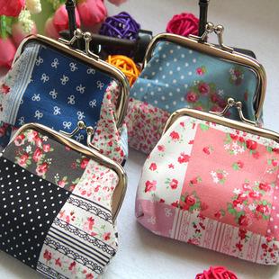 Каваи mini цветочный рюкзак женщины девочки дети монета сумка изменение