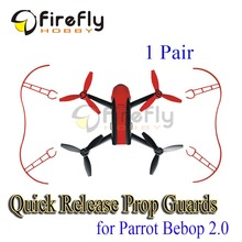 Quick-release Propeller Guard Protector Shielding Ring Bumper for Parrot Bebop Drone 2.0