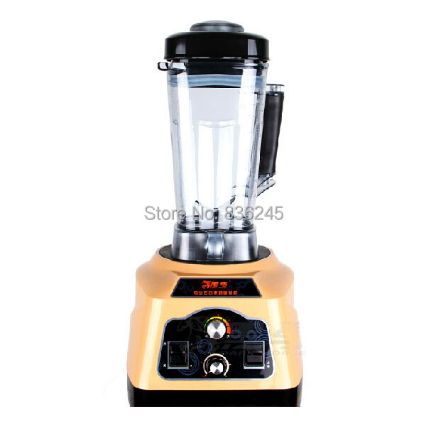2.5L 2200W Timing commercial blender mixers ,4500rpm Adjustable speed mini blenders stand mixer food processor(China (Mainland))