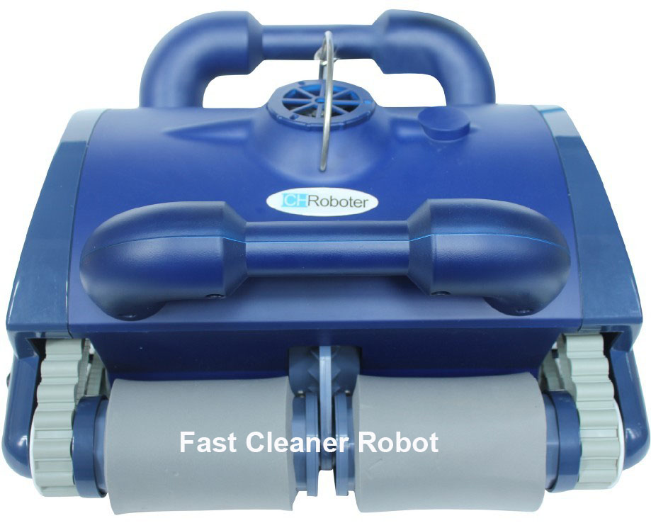 Swimming Pool Automatic Cleaning Robot Swimming Pool Intelligent Vacuum Cleaner With Wall Climbing and Remote Control(China (Mainland))