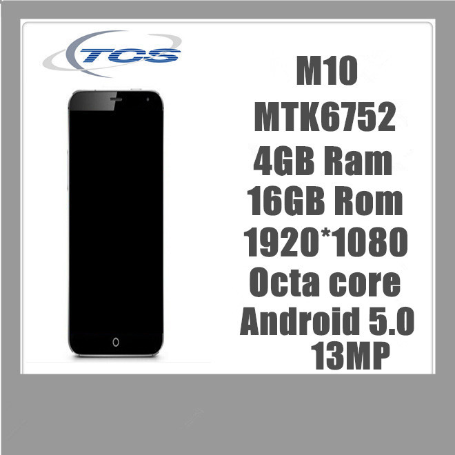 New Original Real MTK6752 Octa core 4GB Ram 16GB Rom Phone 13MP Android Smart phone Mobile Phone(China (Mainland))